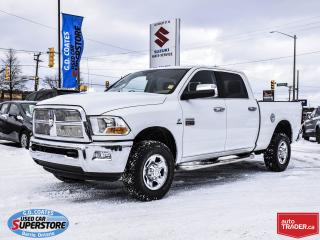 Used 2011 RAM 3500 SLT Crew Cab 4x4 ~6.7L Cummins Turbo Diesel for sale in Barrie, ON