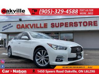 Used 2015 Infiniti Q50 AWD | NAV | B/U CAM | ACCIDENT FREE | LOADED for sale in Oakville, ON