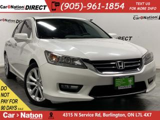 Used 2015 Honda Accord Sedan Touring| LEATHER| SUNROOF| NAVI| BACK UP CAMERA| for sale in Burlington, ON