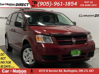 Used 2010 Dodge Grand Caravan SE| LOCAL TRADE| 3-ZONE CLIMATE CONTROL| for sale in Burlington, ON