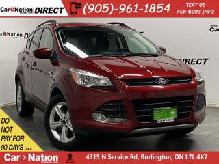 Used 2015 Ford Escape SE| 4X4| LOCAL TRADE| BACK UP CAMERA & SENSORS| for sale in Burlington, ON