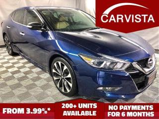 Used 2016 Nissan Maxima SR -NAVIGATION/REVERSE CAMERA/FACTORY WARRANTY - for sale in Winnipeg, MB