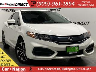 Used 2015 Honda Civic COUPE EX| SUNROOF| BACK UP CAM| PUSH START| LOCAL TRADE| for sale in Burlington, ON