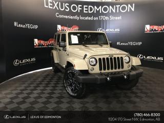 Used 2018 Jeep Wrangler JK Unlimited Sahara for sale in Edmonton, AB