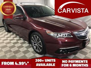 Used 2015 Acura TLX ELITE - NO ACCIDENTS/ADAPTIVE CRUISE/LOADED - for sale in Winnipeg, MB