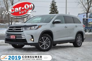 Used 2019 Toyota Highlander XLE AWD 8 SEAT LEATHER NAV SUNROOF REAR CAM LOADED for sale in Ottawa, ON