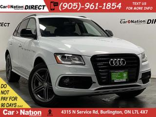 Used 2017 Audi Q5 2.0T Technik quattro| S-LINE| NAVI| PANO ROOF| for sale in Burlington, ON