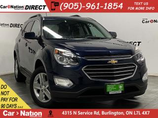 Used 2016 Chevrolet Equinox LT| AWD| LOCAL TRADE| SUNROOF| NAVI| BACK UP CAM| for sale in Burlington, ON