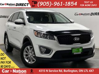 Used 2016 Kia Sorento 2.4L LX| HEATED SEATS| BACK UP SENSORS| for sale in Burlington, ON
