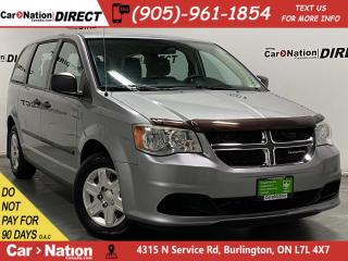 Used 2013 Dodge Grand Caravan SE| DUAL CLIMATE CONTROL| LOCAL TRADE| for sale in Burlington, ON