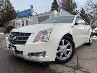 Used 2008 Cadillac CTS 4dr Sdn w/1SA  LEATHER & PANORAMIC SUNROOF  for sale in Brampton, ON