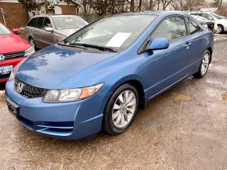 Used 2009 Honda Civic COUPE 2dr EX-L, 1 owner, leather, auto, sunroof for sale in Halton Hills, ON