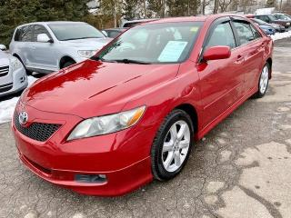 Used 2009 Toyota Camry SE, 4 cylinder, auto, leather, low km's for sale in Halton Hills, ON