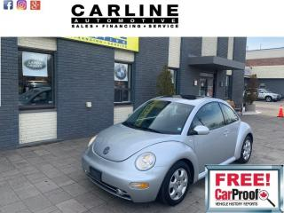 Used 2003 Volkswagen New Beetle 2DR CPE GLS for sale in Nobleton, ON