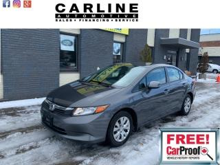Used 2012 Honda Civic 4dr Auto LX for sale in Nobleton, ON