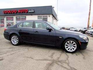 Used 2008 BMW 5 Series 535i HEADS UP DISPLAY BLUETOOTH CERTIFIED for sale in Milton, ON