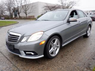 Used 2011 Mercedes-Benz E-Class E550 Sedan 4MATIC for sale in Burnaby, BC