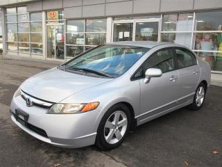 Used 2006 Honda Civic LX Automatic LOW KMs / Air Condition / Power package/ Clean Record for sale in Mississauga, ON