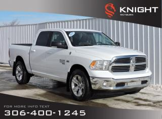 New 2019 RAM 1500 Classic SLT Crew Cab 4x4 HEMI | Heated Seats/Steering Wheel | Sunroof | NAV | Back-up Camera | Remote Start for sale in Weyburn, SK