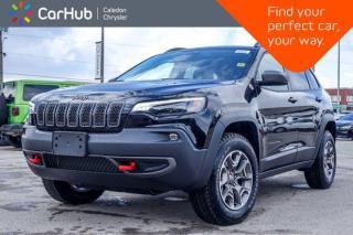 New 2020 Jeep Cherokee New Trailhawk 4x4 Blind Spot Backup Camera Bluetooth Leather R Start 17