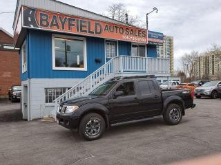Used 2015 Nissan Frontier PRO-4X Crew Cab 4x4 **Leather/Sunroof/Navigation** for sale in Barrie, ON