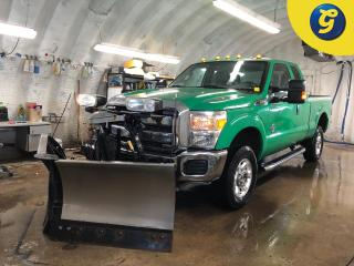 Used 2015 Ford F-350 F350 Super Duty * Super Cab * 4WD * 6.7L Power Stroke Diesel *  Fisher multiple angle snow plow * 8 Foot long box * Tow/haul package with brake assist for sale in Cambridge, ON