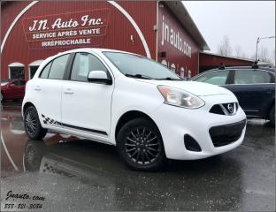 Used 2015 Nissan Micra SV for sale in Richmond, QC