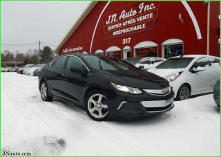 Used 2017 Chevrolet Volt Lt, cam recul, sièges chauffants et volant chauffant. Électrique-essence for sale in Richmond, QC
