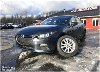 Used 2016 Mazda MAZDA3 Gs sport 1 seul propriétaire, jamais accidenté! for sale in Richmond, QC