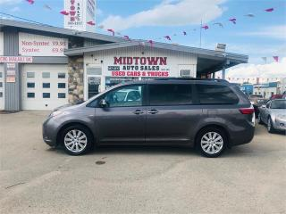 Used 2017 Toyota Sienna XLE for sale in Regina, SK