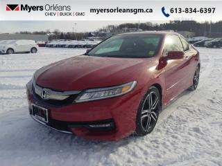 Used 2016 Honda Accord Coupe Touring  RARE MANUAL TRANSMISSION! for sale in Orleans, ON