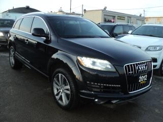 Used 2012 Audi Q7 TDI, PRETIGE NAVIGATION,CAMERA,PANORAMIC ROOF for sale in Oakville, ON