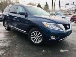 Used 2014 Nissan Pathfinder SL CUIR 7 PASSAGERS BLUETOOTH for sale in Ste-Marie, QC