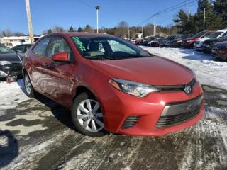 Used 2016 Toyota Corolla LE GROUPES ELECTRIQUES for sale in Ste-Marie, QC