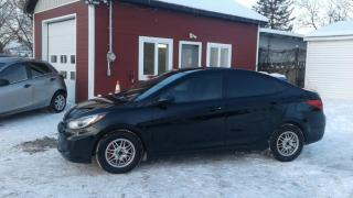 Used 2012 Hyundai Accent Gl*climatisation*cruise*vitre Électrique for sale in Richelieu, QC