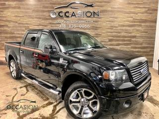 Used 2008 Ford F-150 4X4, SuperCrew HARLEY DAVIDSON for sale in Ste-Brigitte-de-Laval, QC