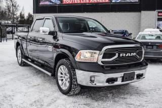 Used 2017 RAM 1500 LONGHORN ECODIESEL CUIR MAGS 20P NAV for sale in St-Constant, QC