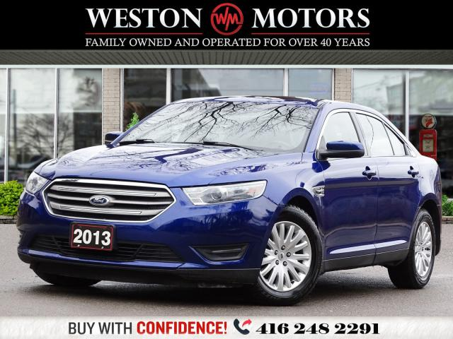2013 Ford Taurus SEL*SUNROOF*LEATHER*BTOOTH*NAVI!!*WOW ONLY 84KMS!*