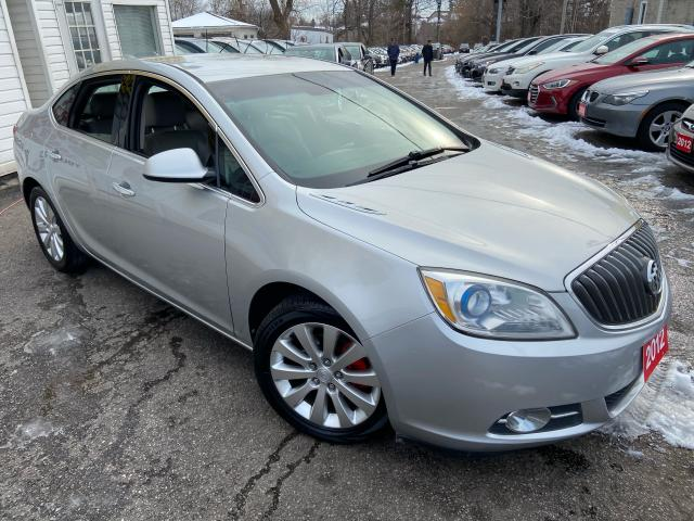 2012 Buick Verano AUTO/ LEATHER/ PWR GROUP/ ALLOYS/ FOG LIGHTS!
