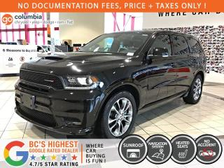 Used 2019 Dodge Durango R/T AWD HEMI - No Accident/Local/Nav/Sunroof/Leather for sale in Richmond, BC