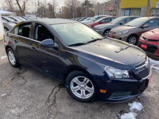 Used 2014 Chevrolet Cruze 95K/BACKUP CANERA/PWR GROUP/ ALLOYS/ LOADED! for sale in Scarborough, ON