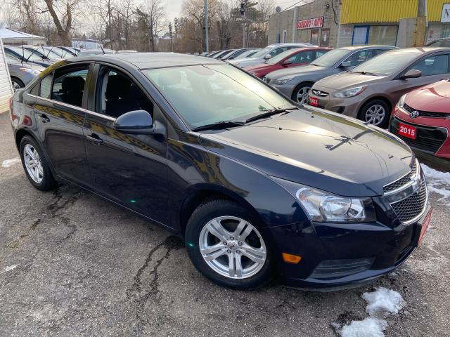 2014 Chevrolet Cruze 95K/BACKUP CANERA/PWR GROUP/ ALLOYS/ LOADED!