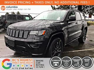 New 2020 Jeep Grand Cherokee Altitude for sale in Richmond, BC