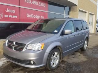 Used 2014 Dodge Grand Caravan Crew / Back Up Camera for sale in Edmonton, AB