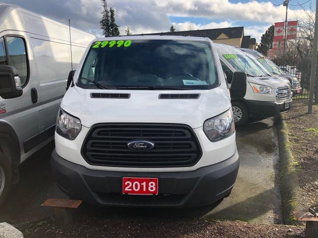 2018 Ford Transit 150 LOW ROOF 3.7L V6 6 SPD AUTO