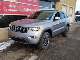 Used 2017 Jeep Grand Cherokee Limited / Sunroof / Back Up Camera / Heated Seats & Wheel for sale in Edmonton, AB