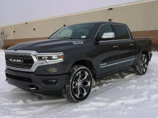 New 2020 RAM 1500 Limited 4x4 Crew Cab / Panoramic Sunroof / GPS Navigation for sale in Edmonton, AB