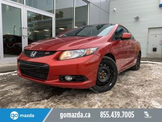 Used 2013 Honda Civic Cpe SI COUPE MANUAL NAV SUNROOF BEAUTY for sale in Edmonton, AB