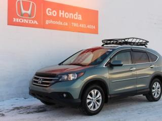 Used 2013 Honda CR-V Touring AWD for sale in Edmonton, AB