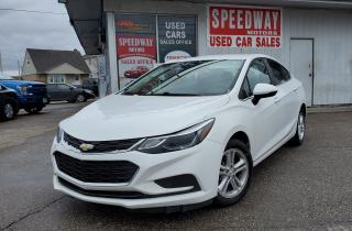 Used 2018 Chevrolet Cruze LT Accident Free, Safety Certified for sale in Oakville, ON